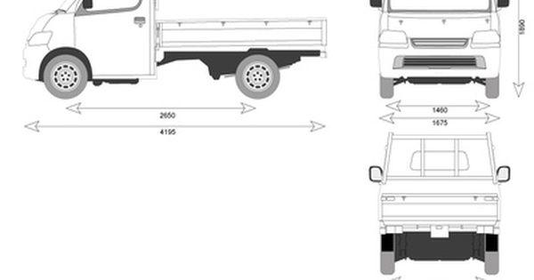 Daihatsu Gran Max Pick Up Mobil Modifikasi