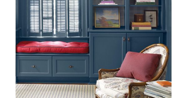 Benjamin Moore Gentleman S Gray Navy Paint Color Paint