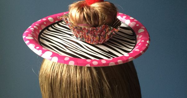 Crazy hair day cupcake! | My Style | Pinterest | Crazy ...