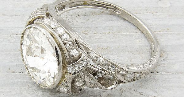 Vintage Diamond Engagement Ring | Erstwhile Jewelry Co. I Know, I Know,