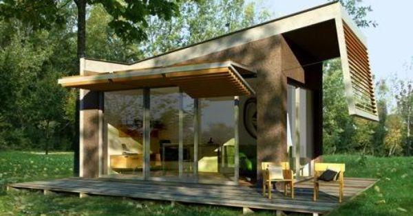 Caba as de madera modernas bioclim ticas de super lujo for Cabanas para jardin