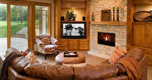 Houzz How High Should Your Tv Be Traditional Basement