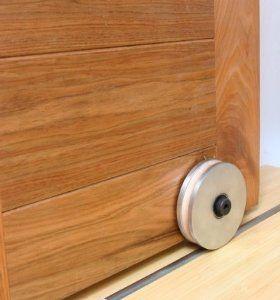 Barn Door Hardware Bottom Roller By Rustica Hardware 330 00 Keep Your Barn Door On Track With This Hardware Barn Door Hardware Hanging Barn Doors Barn Door