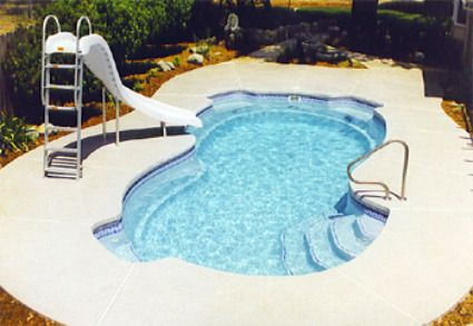 Fiberglass inground pools one piece installation cost and - Prices of inground swimming pools ...