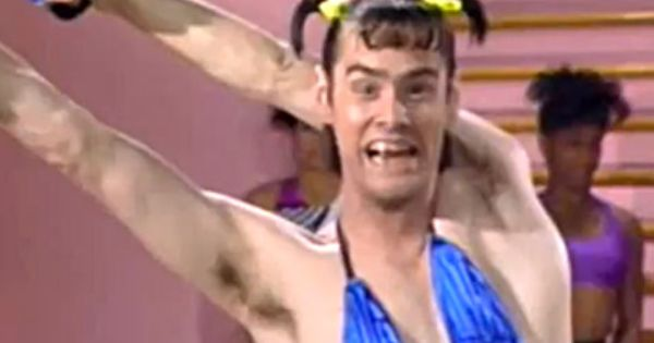 jim carrey as vera de milo on in living color the 80 s