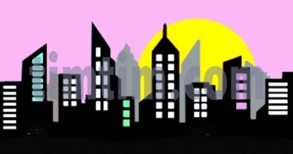 Gotham City Skyline Drawing Google Search Cantor Cave Pinterest Skylines