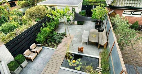 Leuk oplossing voor een tarp alles beter dan zo 39 n tuttige parasol tuin ideeen pinterest - Outdoor patio ideeen ...