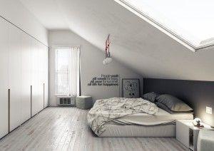 Schlafzimmer Dachgeschoss Modern