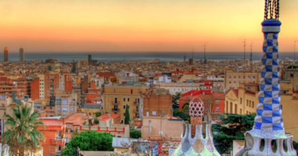Barcelona, Spain, my favorite city. View from Park Guell.