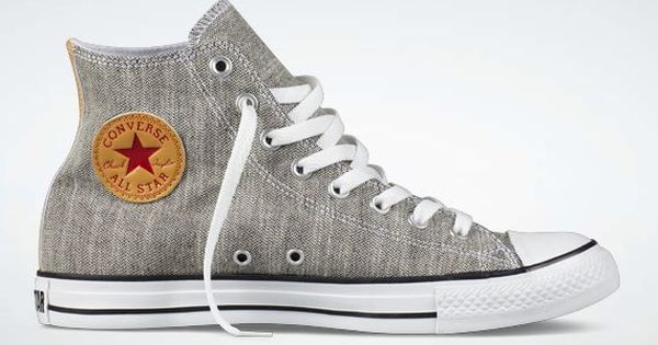 ✭Grey Converse I WANT NEW ONES!