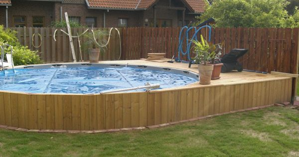 intex frame pool in erde eingelassen piscines hors sol jacuzzis spas pinterest. Black Bedroom Furniture Sets. Home Design Ideas