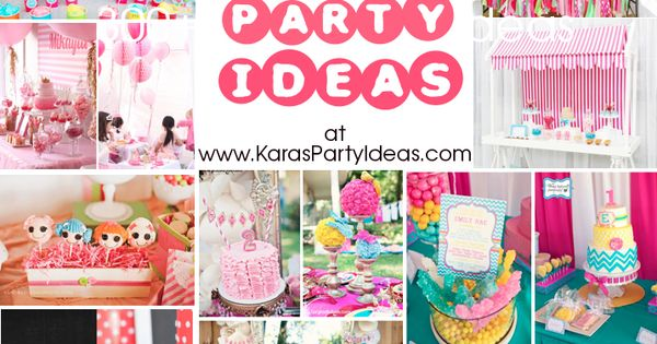 300 GIRL PARTY IDEAS! All great ideas, all in one place! kids