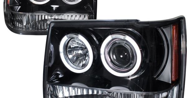 The Spec D Pair Headlights Fit The 1995 Jeep Grand Cherokee Get Proper Fitment Easy Installation And Quality Headlights For Jeep Grand Cherokee Jeep Cherokee