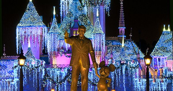 Disney World - Mickey's Christmas party. Whole family went to experience the