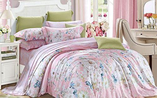 Thefit Paisley Textile Bedding For Adult U206 Pink Floral Duvet
