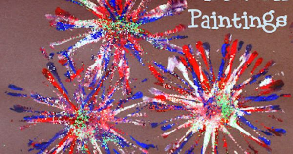Simple craft paint project to celebrate the 4th of July. All you