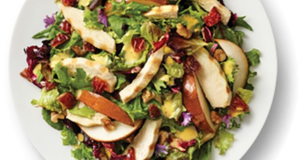 Honey Dijon-Pear Salad with Honey Mustard
