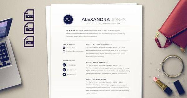 nice Beautiful Resume Template CreativeWork247 - Fonts, Graphics - nice resume template