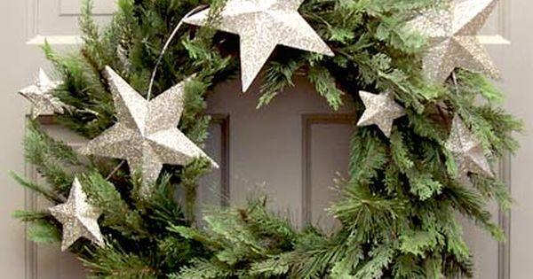 Christmas Stars wreath