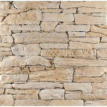 Plaquettes De Parement Pierre Reconstituee Isola Creme Mathios Multiformats Ep 4 Cm Boite 0 Parement Pierre Exterieur Parement Mural Interieur Parement Mural