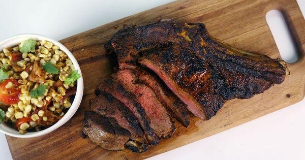 the chew | Recipe | Michael Symon's Pan Roasted Rib Eye A ...