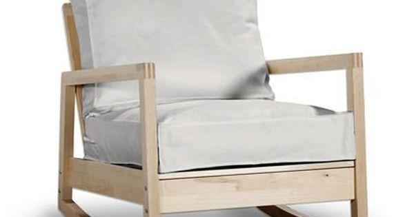 Funda para sillón de IKEA LILLBERGSYLT mecedora en crema