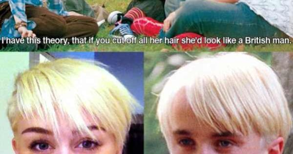nailed it! {Miley Cyrus new hair}
