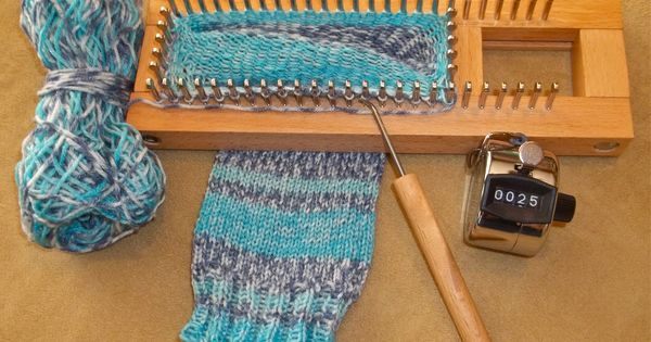 I Made Socks And You Can Too Loom Knitting Knitting