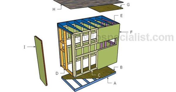 4x8 Deer Stand Plans Howtospecialist How To Build Step By Step Diy Plans Deer Stand Plans Deer Stand Deer Blind Plans