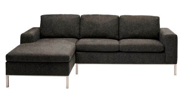 Blu Dot standard sectional, right/stone