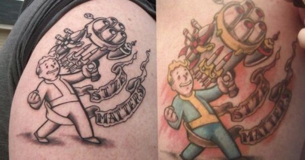 Fallout sleeve tattoo artist was chris norrell at for Tattoo savannah ga