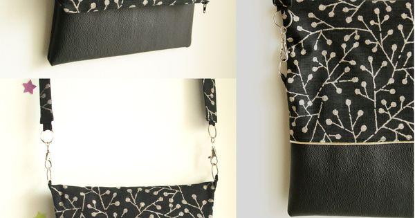 DIY Le sac bi-matière Frénesie et moi tuto Couture ️sewing