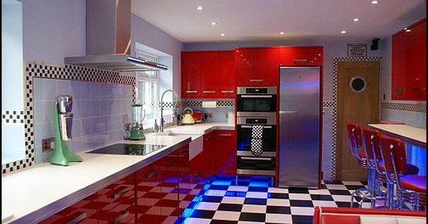Decorating Theme Bedrooms Maries Manor 50s Bedroom Ideas 50s Theme Decor 1950s Retro Decorating Style 5 In 2020 Diner Decor American Diner Kitchen Retro Diner