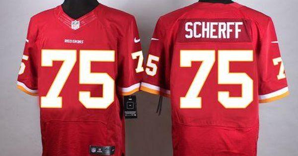 a142194bf ... Nike Redskins 75 Brandon Scherff Burgundy Red Team Color Mens Stitched  NFL Elite Jersey nike nfl ...