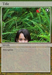 Trading Card Turn Your Photos Into Trading Cards Trading Card Template Trading Cards Trading Card Ideas