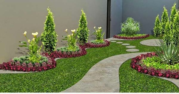 Dise o de jardines peque os jardines pinterest - Disenos de jardines pequenos ...