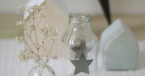 Astuce pour déco nordique {DIY  Pots, Bricolage et Vase