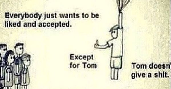 Tom's the man...and I married him! Lol....