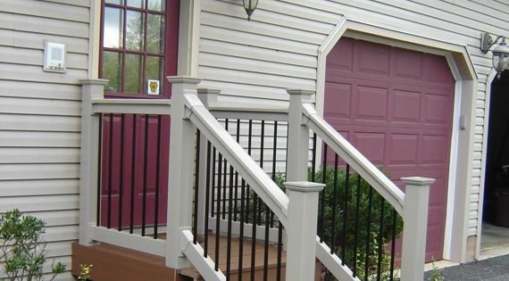back door steps ideas