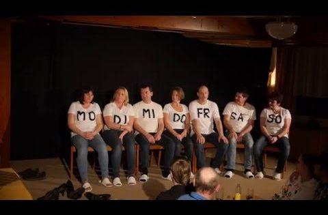 Sitzung Der Wochentage Theatergruppe Fix Fertig Mank Youtube