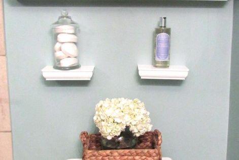 Small Bathroom shelves for kids bathroom