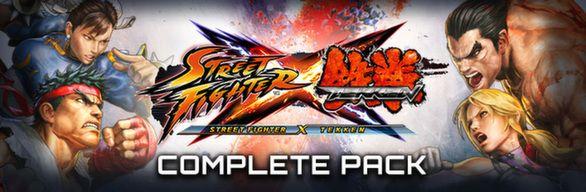Street Fighter X Tekken Complete Pack