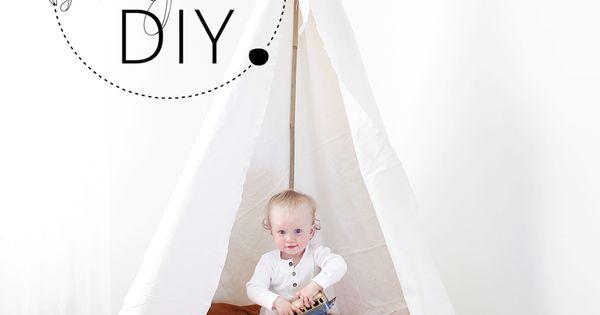 Torsdagstipset: Gör ett eget tipi tält! (Bonjour Vintage