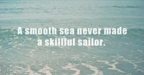 Thank you Jesus for managing the sea and manning the helm while