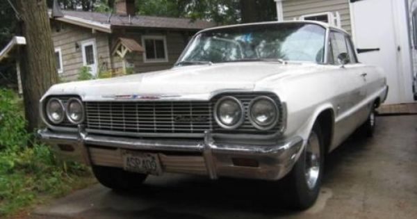 1964 Chevy Impala For Sale Nh 11 900this Vehicle Has Been Very Well Maintained Asking 11 900 Located Farmington Chevy Impala Impala For Sale Impala