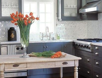 Gray Kitchen Cabinets Color Ideas | The Happy House Manifesto: Gray Kitchen
