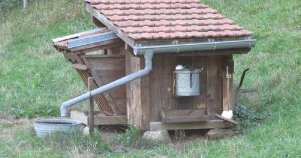 Cabane pour chevre atelier jardin pinterest - Cabane jardin atelier besancon ...