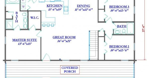 Log cabin floor plans with wrap around porch early log for Log cabin plan con soppalco