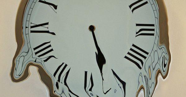 Melting Clock....need. it. now. | ^v^ The Bat Cave ^v ...