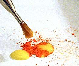 Excellent Egg Tempera Paint Recipe Glazing Stippling And